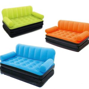 5 in 1 sofa cum bed coloured