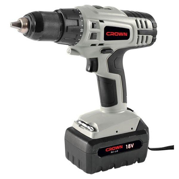 Crown CT20113N Cordless Drill Machine 18 Volt