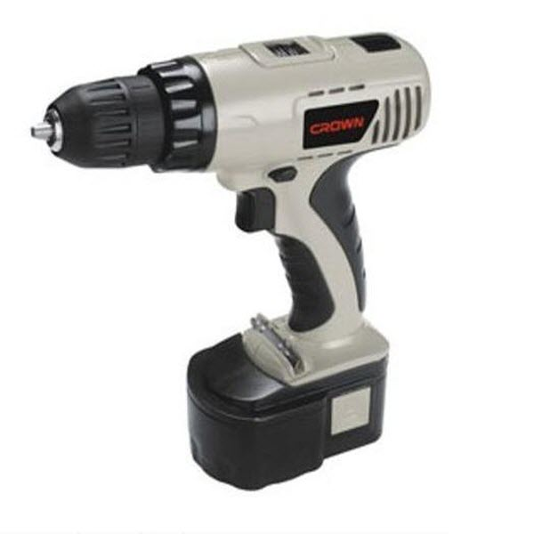 Crown CT21004N Cordless Drill Machine 10 mm 14.4 Volt