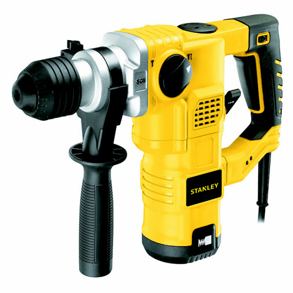Stanley STHR323K 32 mm 1250 watt 3 Model L-Shape SDS-Plus Hammer