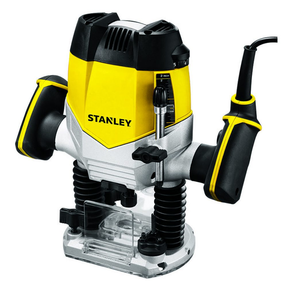 Stanley STRR1200 1200 Watt 8 mm Plunge Router
