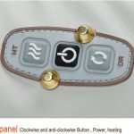 3D Shoulder Massager buttons
