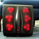 Infrared and Kneading Foot Massager massaging heads